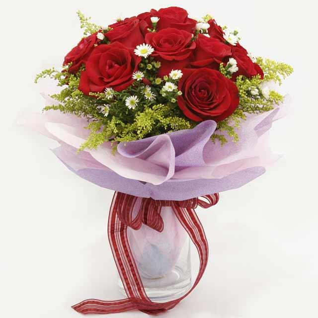 Çiçek gönderme estetikliginiz 11 gül buket  Iğdır Halfeli cicek , cicekci