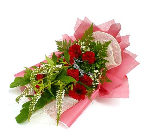 Karisik çiçek buketi mevsim buket  Iğdır Obaköy cicekciler , cicek siparisi