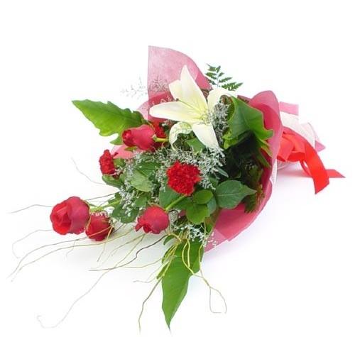 Mevsim çiçeklerinden karisik buket  Iğdır Hoşhaber çiçek servisi , çiçekçi adresleri