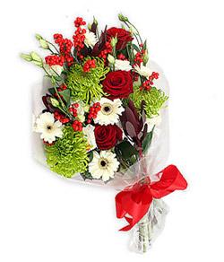 Karisik mevsim buketi çiçek tanzimi  Iğdır Melekli anneler günü çiçek yolla
