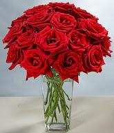 Iğdır Halfeli cicek , cicekci  cam vazoda 11 kirmizi gül  Iğdır çiçek gönder online çiçekçi , çiçek siparişi