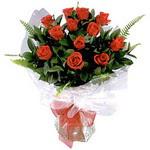 Iğdır Konaklı internetten çiçek siparişi  9 adet güzel bir gül buketi