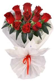 11 adet gül buketi  Iğdır Melekli anneler günü çiçek yolla  kirmizi gül