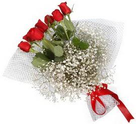 7 adet essiz kalitede kirmizi gül buketi  Iğdır çiçek gönder online çiçekçi , çiçek siparişi
