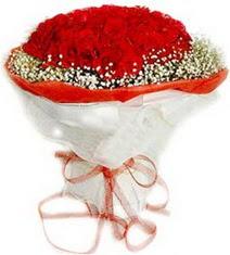 Iğdır Akyumak 14 şubat sevgililer günü çiçek  41 adet kirmizi gül buketi