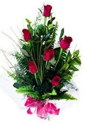 Iğdır Hakveis çiçek gönderme  5 adet kirmizi gül buketi hediye ürünü