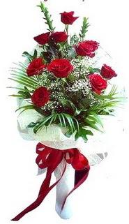 Iğdır Cumhuriyet çiçek siparişi vermek  10 adet kirmizi gül buketi demeti