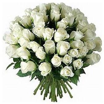 Iğdır Aralık İnternetten çiçek siparişi  33 adet beyaz gül buketi