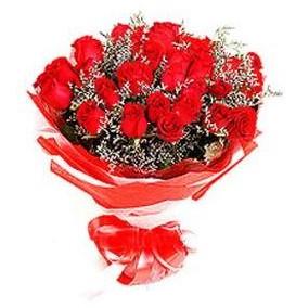 Iğdır karakoyunlu çiçek gönderme sitemiz güvenlidir  12 adet kırmızı güllerden görsel buket