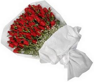 Iğdır Bağlar ucuz çiçek gönder  51 adet kırmızı gül buket çiçeği