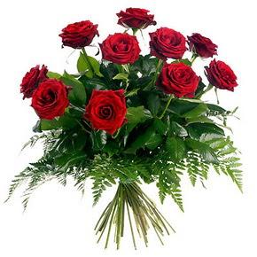 Iğdır Söğütlü çiçek siparişi sitesi  10 adet kırmızı gülden buket