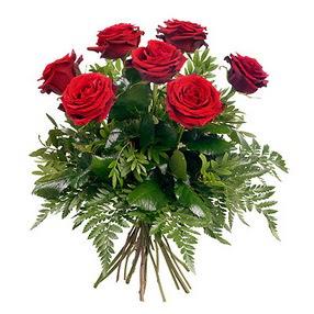 Iğdır Karakuyu çiçek online çiçek siparişi  7 adet kırmızı gülden buket