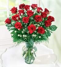 Iğdır Enginalan uluslararası çiçek gönderme  9 adet mika yada vazoda kirmizi güller