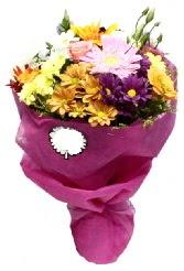 1 demet karışık görsel buket  Iğdır çiçek yolla yurtiçi ve yurtdışı çiçek siparişi