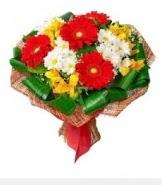 1 demet karışık buket  Iğdır çiçek gönder online çiçekçi , çiçek siparişi