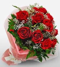 12 adet kırmızı güllerden kaliteli gül  Iğdır Özdemir hediye sevgilime hediye çiçek