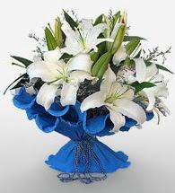 4 dal kazablanka çiçeğinden buket  Iğdır Hoşhaber çiçek servisi , çiçekçi adresleri