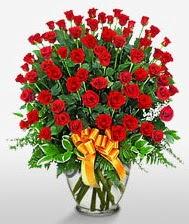 Görsel vazo içerisinde 101 adet gül  Iğdır Hoşhaber çiçek servisi , çiçekçi adresleri