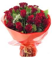 12 adet görsel bir buket tanzimi  Iğdır Özdemir hediye sevgilime hediye çiçek