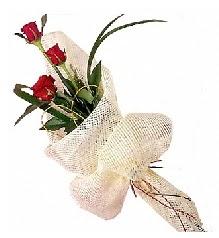 3 adet kırmızı gül buketi  Iğdır Hakveis çiçek gönderme