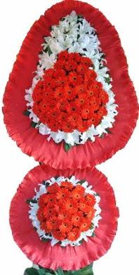 Iğdır Karakuyu çiçek online çiçek siparişi  Çift katlı kaliteli düğün açılış sepeti