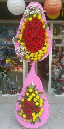Çift katlı düğün nikah açılış çiçek modeli  Iğdır Akyumak 14 şubat sevgililer günü çiçek
