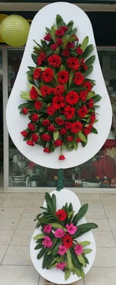 Çift katlı düğün nikah açılış çiçek modeli  Iğdır Melekli anneler günü çiçek yolla