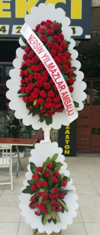 Çift katlı düğün nikah çiçeği modeli  Iğdır Aşağı erhacı online çiçek gönderme sipariş