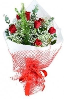 7 adet gülden kız arkadaşıma çiçek  Iğdır Karaağaç internetten çiçek satışı