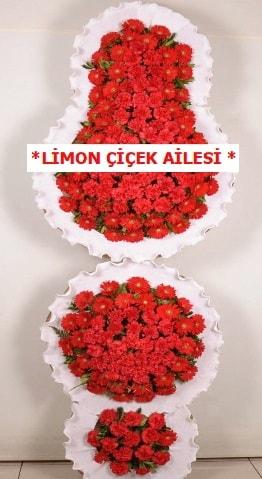 3 katlı kırmızı düğün açılış çiçeği  Iğdır Söğütlü çiçek siparişi sitesi