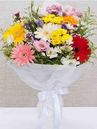 Karışık Mevsim Buketleri  Iğdır Cumhuriyet çiçek siparişi vermek