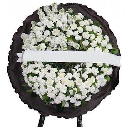 Cenaze çelengi çiçeği modelleri  Iğdır Enginalan uluslararası çiçek gönderme