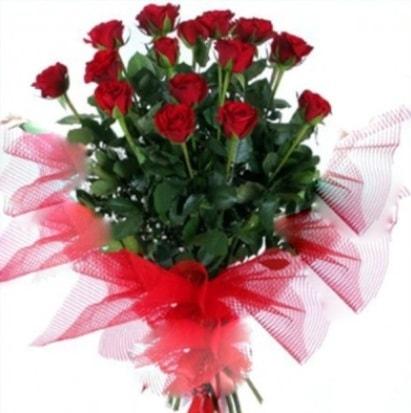 15 adet kırmızı gül buketi  Iğdır Hoşhaber çiçek servisi , çiçekçi adresleri
