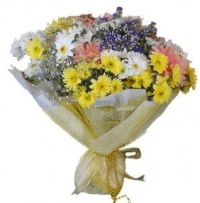 Karışık mevsim çiçeği  Iğdır 7 kasım çiçekçiler