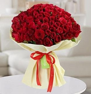 101 adet kırmızı gül buketi koca demet  Iğdır Melekli anneler günü çiçek yolla