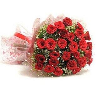 27 Adet kırmızı gül buketi  Iğdır Cumhuriyet çiçek siparişi vermek