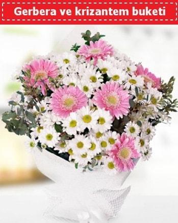 Papatya ve Gerbera Buketi  Iğdır Konaklı internetten çiçek siparişi