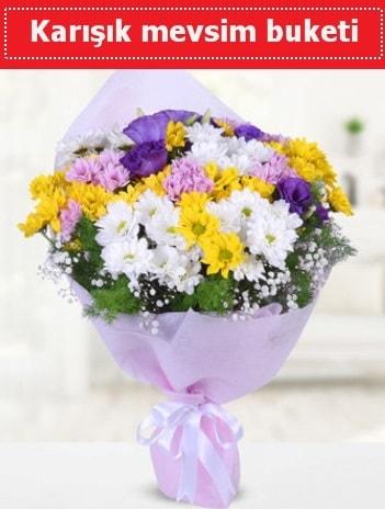 Karışık Kır Çiçeği Buketi  Iğdır Hakveis çiçek gönderme