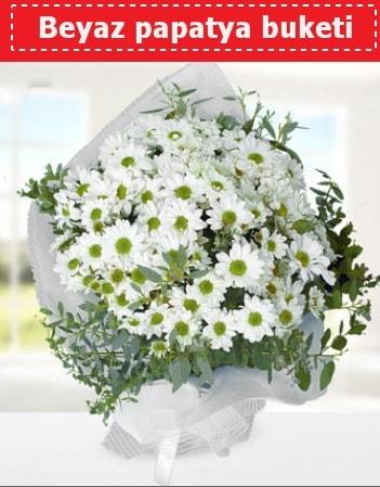 Beyaz Papatya Buketi  Iğdır çiçekçiler güvenli kaliteli hızlı çiçek